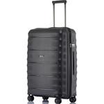 Qantas Dallas Medium 66cm Hardside Suitcase Black 38065