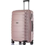 Qantas Dallas Medium 66cm Hardside Suitcase Rose Gold 38065