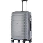 Qantas Dallas Medium 66cm Hardside Suitcase Silver 38065