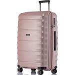 Qantas Dallas Large 75cm Hardside Suitcase Rose Gold 38075