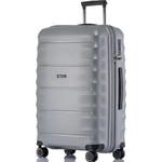 Qantas Dallas Large 75cm Hardside Suitcase Silver 38075