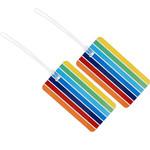 GO Travel Tag Me Luggage Tags Stripes GO153