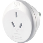 GO Travel Adaptor Plug Australia to USA White GO562
