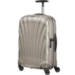 Samsonite Cosmolite 3.0 Small/Cabin 55cm Hardsided Suitcase Ivory Gold 73349