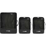 Pacsafe Travel Accessories Travel Packing Cubes Black 10960