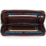 Pacsafe RFIDsafe RFID Blocking Continental Wallet Merlot 11010 - 4