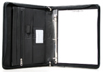 Samsonite Compendium A4 Leather Ziparound Folder with Binder Black SC163