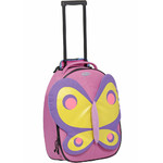 Samsonite Sammies Dreams Butterfly Small/Cabin 50cm Softside Suitcase Pink 44468 - 2