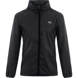 Mac In A Sac Classic Packable Waterproof Unisex Jacket Extra Large Jet Black CXL