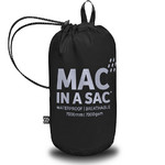 Mac In A Sac Classic Packable Waterproof Unisex Jacket Large Jet Black CL - 4