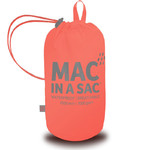Mac In A Sac Classic Packable Waterproof Unisex Jacket Extra Large Coral CXL - 4