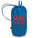 Mac In A Sac Classic Packable Waterproof Unisex Jacket Medium Electric Blue CM - 4