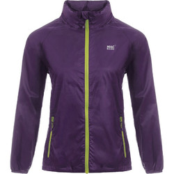 Mac In A Sac Classic Packable Waterproof Unisex Jacket Extra Small Grape CXS