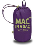 Mac In A Sac Classic Packable Waterproof Unisex Jacket Extra Small Grape CXS - 4