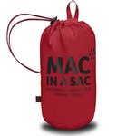 Mac In A Sac Classic Packable Waterproof Unisex Jacket Large Lava Red CL - 4