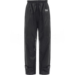Mac In A Sac Packable Waterproof Unisex Overtrousers Extra Small Black OXS