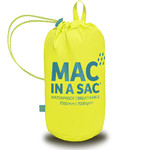 Mac In A Sac Neon Packable Waterproof Unisex Jacket Small Yellow NS - 4