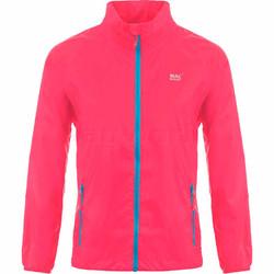 Mac In A Sac Neon Packable Waterproof Unisex Jacket Medium Pink NM