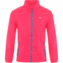 Mac In A Sac Neon Packable Waterproof Unisex Jacket Small Pink NS