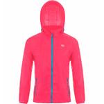 Mac In A Sac Neon Packable Waterproof Unisex Jacket Medium Pink NM - 1