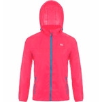 Mac In A Sac Neon Packable Waterproof Unisex Jacket Small Pink NS - 1