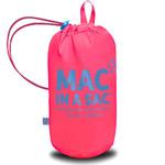 Mac In A Sac Neon Packable Waterproof Unisex Jacket Medium Pink NM - 4