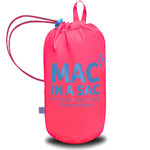 Mac In A Sac Neon Packable Waterproof Unisex Jacket Small Pink NS - 4