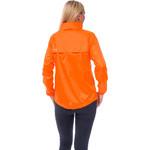 Mac In A Sac Neon Packable Waterproof Unisex Jacket Small Orange NS - 3