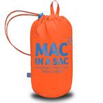 Mac In A Sac Neon Packable Waterproof Unisex Jacket Small Orange NS - 4