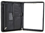 Samsonite Compendium A4 Non Leather Ziparound Folder Black SC152
