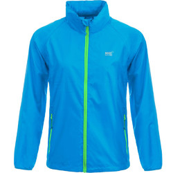 Mac In A Sac Neon Packable Waterproof Unisex Jacket Small Blue NS