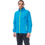 Mac In A Sac Neon Packable Waterproof Unisex Jacket Small Blue NS - 2
