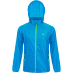 Mac In A Sac Neon Packable Waterproof Unisex Jacket Small Blue NS - 1