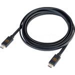 Go Travel 2M Dual USB-C Cable Black GO956
