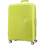 American Tourister Curio Large 80cm Hardside Suitcase Lime Punch 86230