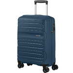 American Tourister Sunside Small/Cabin 55cm Hardside Suitcase Moonlight Navy 14140
