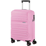 American Tourister Sunside Small/Cabin 55cm Hardside Suitcase Pink Gelato 14140