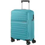 American Tourister Sunside Small/Cabin 55cm Hardside Suitcase Aero Turquoise 14140