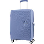 American Tourister Curio Medium 69cm Hardside Suitcase Denim Blue 86229