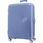 American Tourister Curio Large 80cm Hardside Suitcase Denim Blue 86230