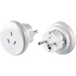 GO Travel Adaptor Plug Australia to EU White GO561