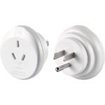 GO Travel Adaptor Plug Australia to USA White GO562