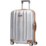 Samsonite Lite-Cube Deluxe Small/Cabin 55cm Hardside Suitcase Aluminium 61242