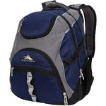 "High Sierra Access 2.0 RFID Blocking 16"" Laptop & Tablet Backpack Navy 35041"