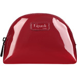 Lipault Plume Vinyl Cosmetic Pouch Ruby 77819