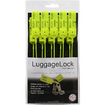 LuggageLock Tamper Evident Security Seal 10 Pack Yellow LLOCK