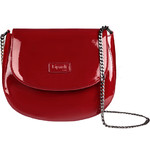 Lipault Plume Vinyl Saddle Bag Ruby 77811