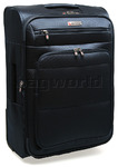 Qantas Electra Medium 64cm Softsided Suitcase Blue 00466