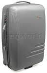 Qantas Spectre Medium 68cm Hardside Suitcase Silver 90868