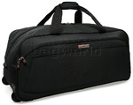 Qantas Heathrow Large Wheel Duffle Charcoal 80776